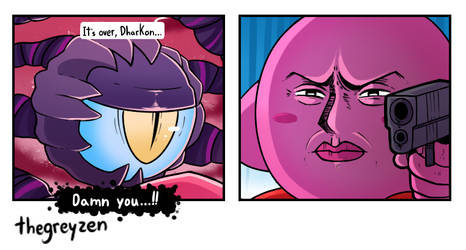 Kirby Gun by thegreyzen