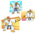 Karate Bowser