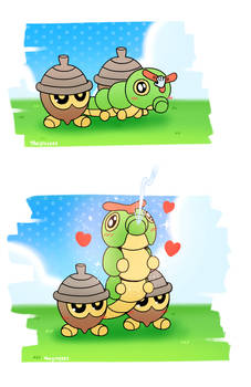 Happy Caterpie