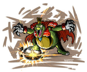 King K Rool Charged!