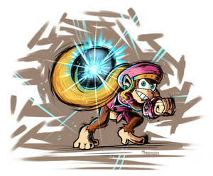 Dixie Kong Charged!