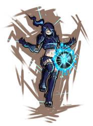 Dark Samus Charged!