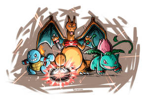 Pokemon Gang Charged!