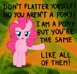 Don't Flatter Yourself by umneem