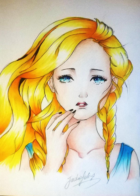 western girl by jackiefelixwei