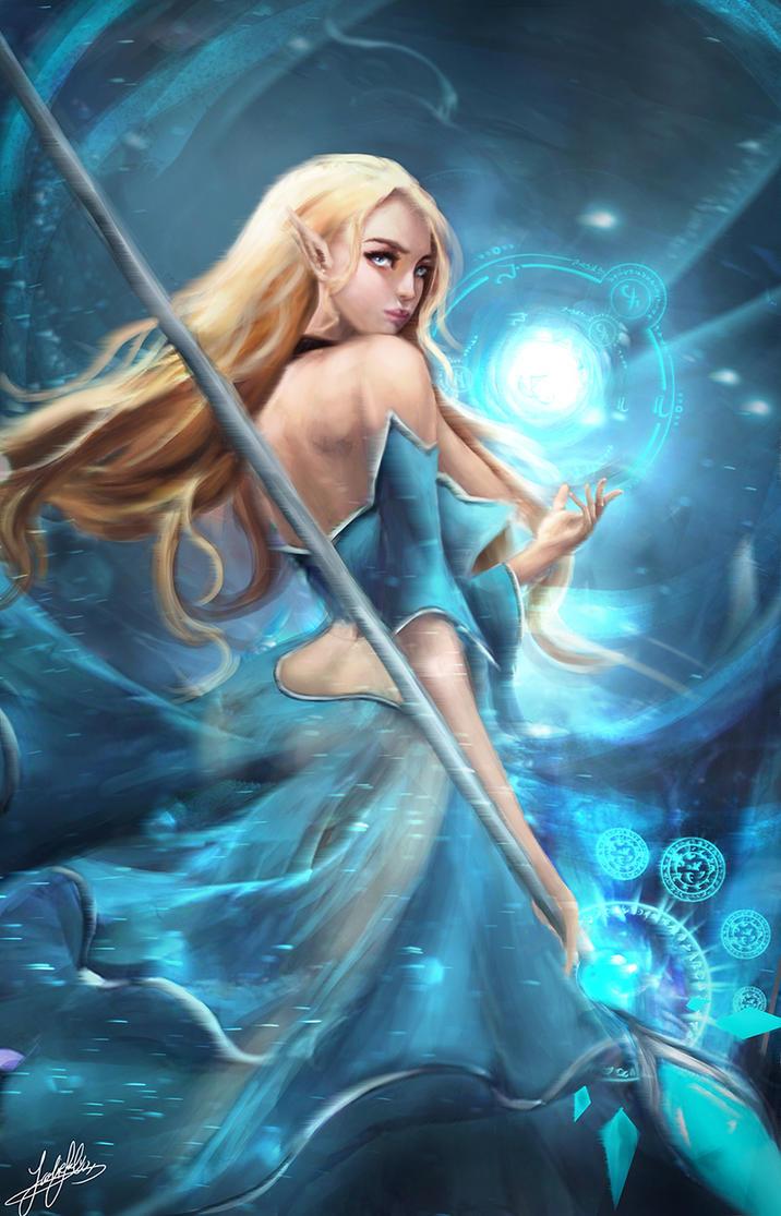 Arcane enchantress by jackiefelixwei
