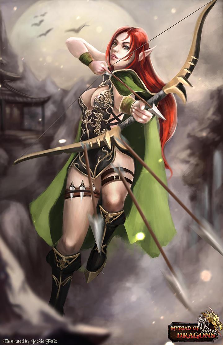Ranger of Savona by jackiefelixwei