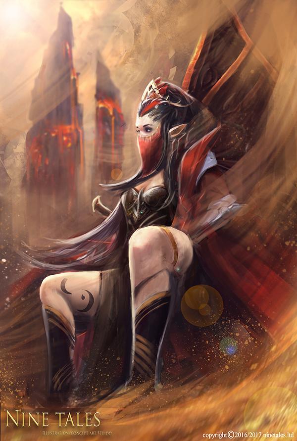 Queen of Sands by jackiefelixwei