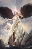 Dark Angel by Jackiefelixart