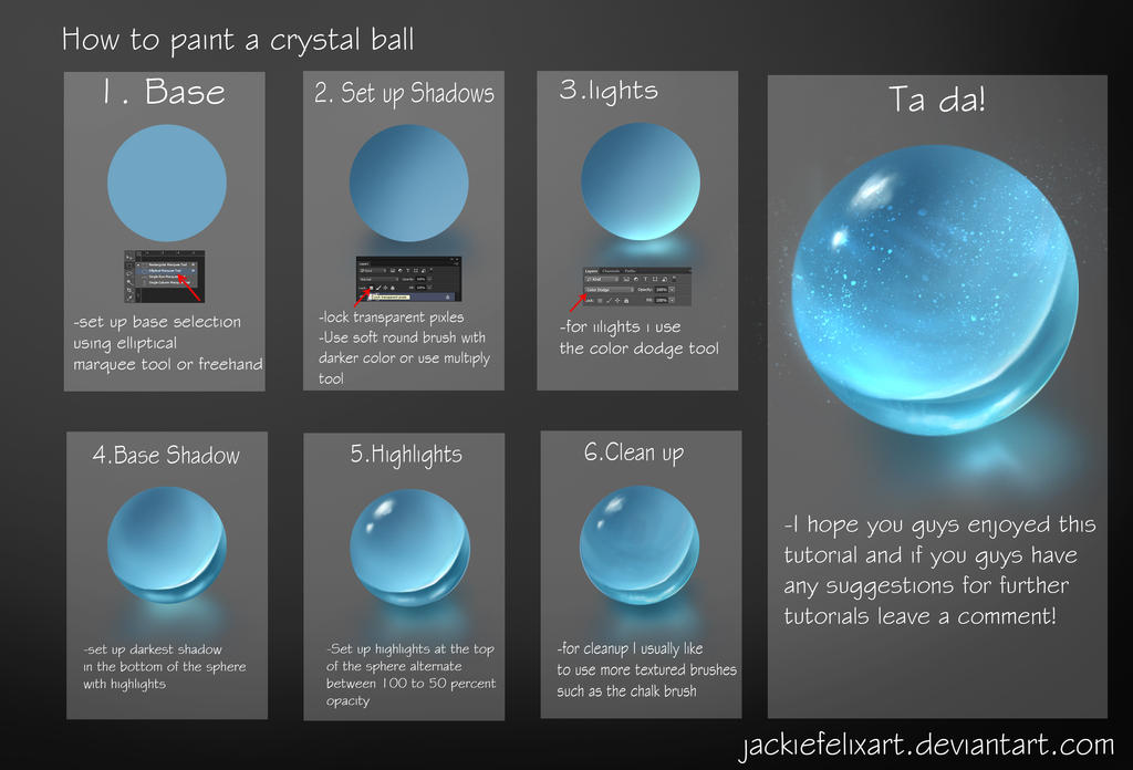 how to play crystal ball
