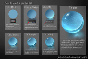 Crystal Ball Tutorial by Jackiefelixart