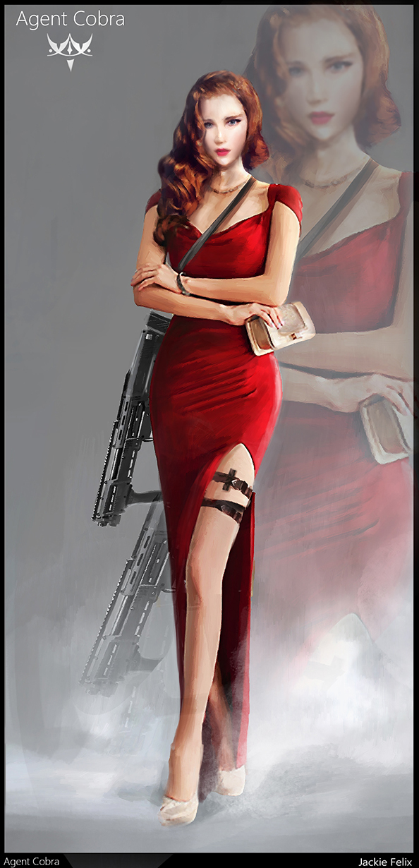Agent cobra by Jackiefelixart