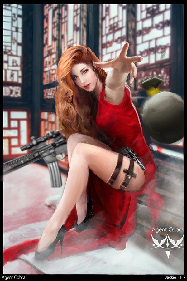 Assassination Agent Cobra by Jackiefelixart
