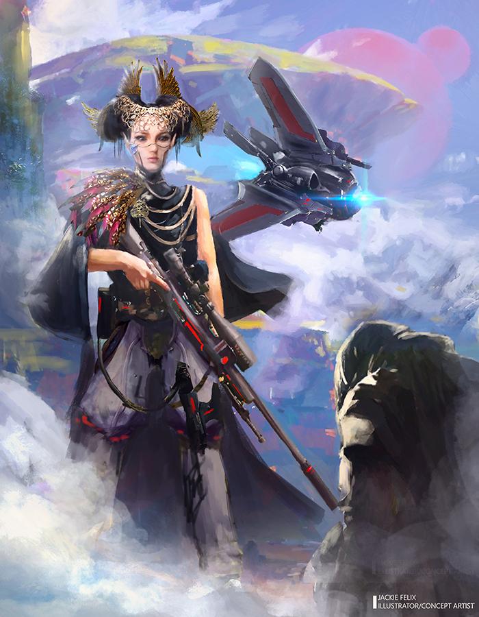 Royal Guard by Jackiefelixart