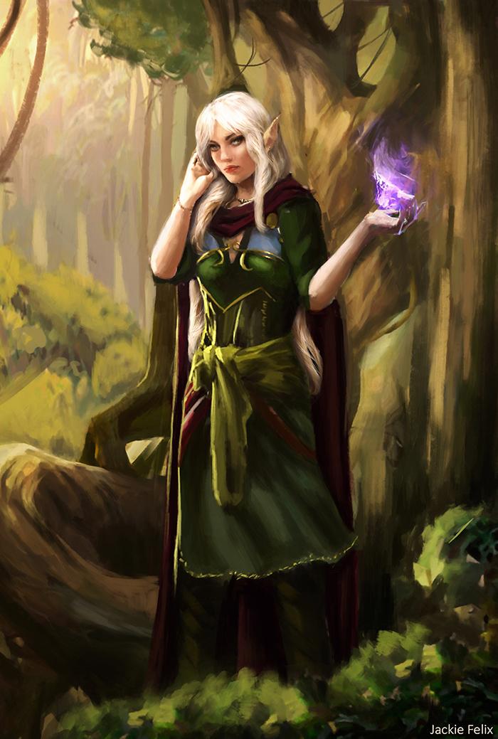 Elena (Commission) by Jackiefelixart