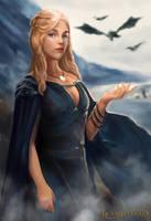 Daenerys Targaryen by Jackiefelixart