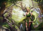 Aiethel the tree spirit