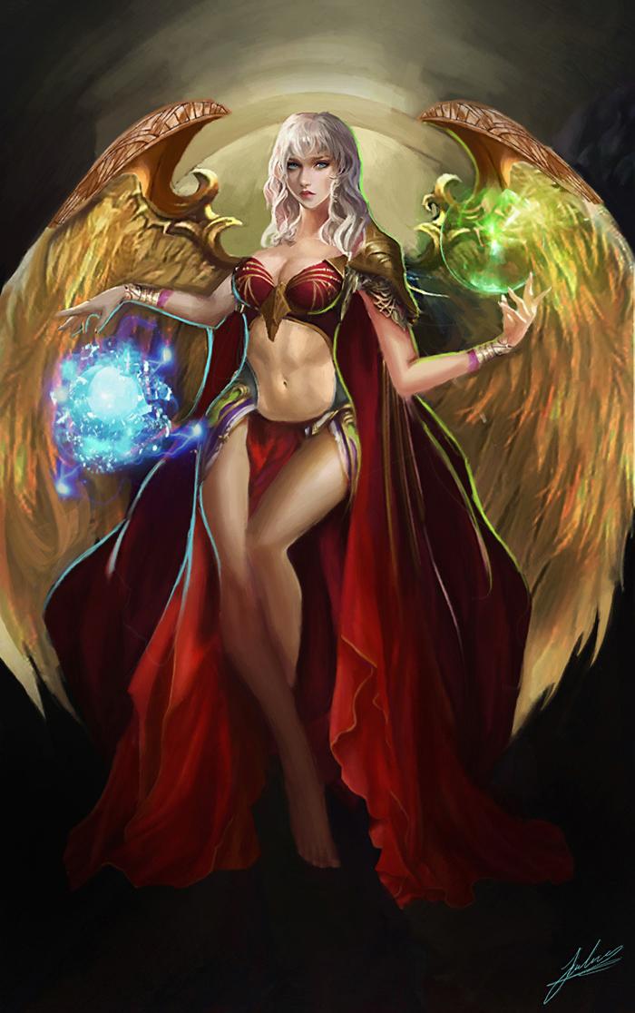 Awakened Witch by Jackiefelixart on DeviantArt