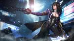 Mirai Battle (Commission)
