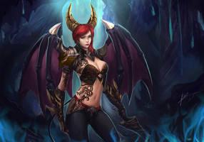 Lilith by Jackiefelixart