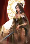 Lady crimson (Commission)