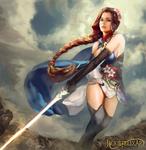 Sarina Lightblade (Commission)