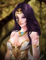 Lady Scarlette by Jackiefelixart