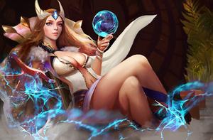 Celestial Maiden by Jackiefelixart