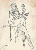 Dark Knight Sketch