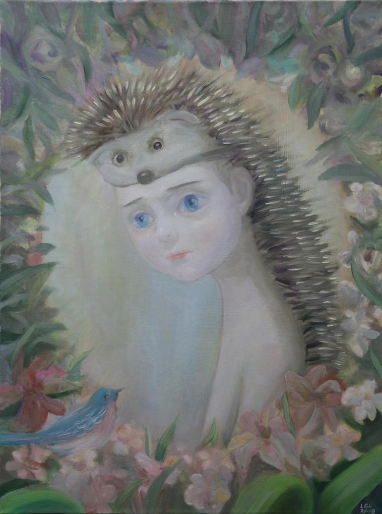 Hedgehog by LuGuanLingSTUDIO