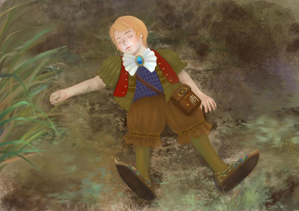 boy by LuGuanLingSTUDIO