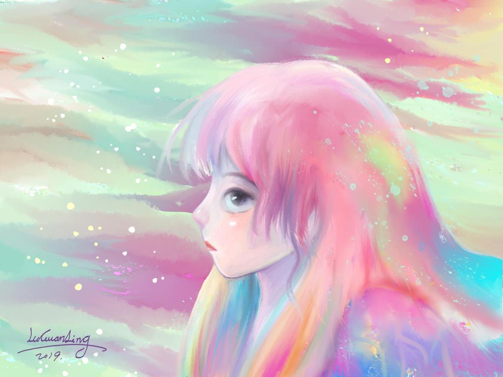Color Girl by LuGuanLingSTUDIO