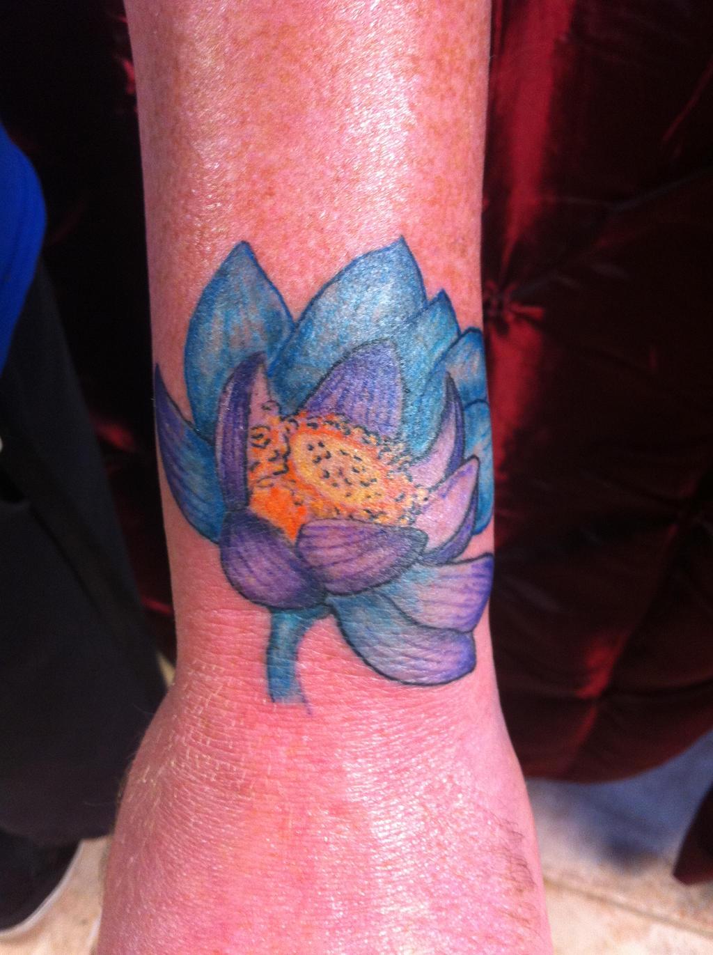 lotus bloom tattoo magic the gathering by mistryssc on deviantart. Black Bedroom Furniture Sets. Home Design Ideas