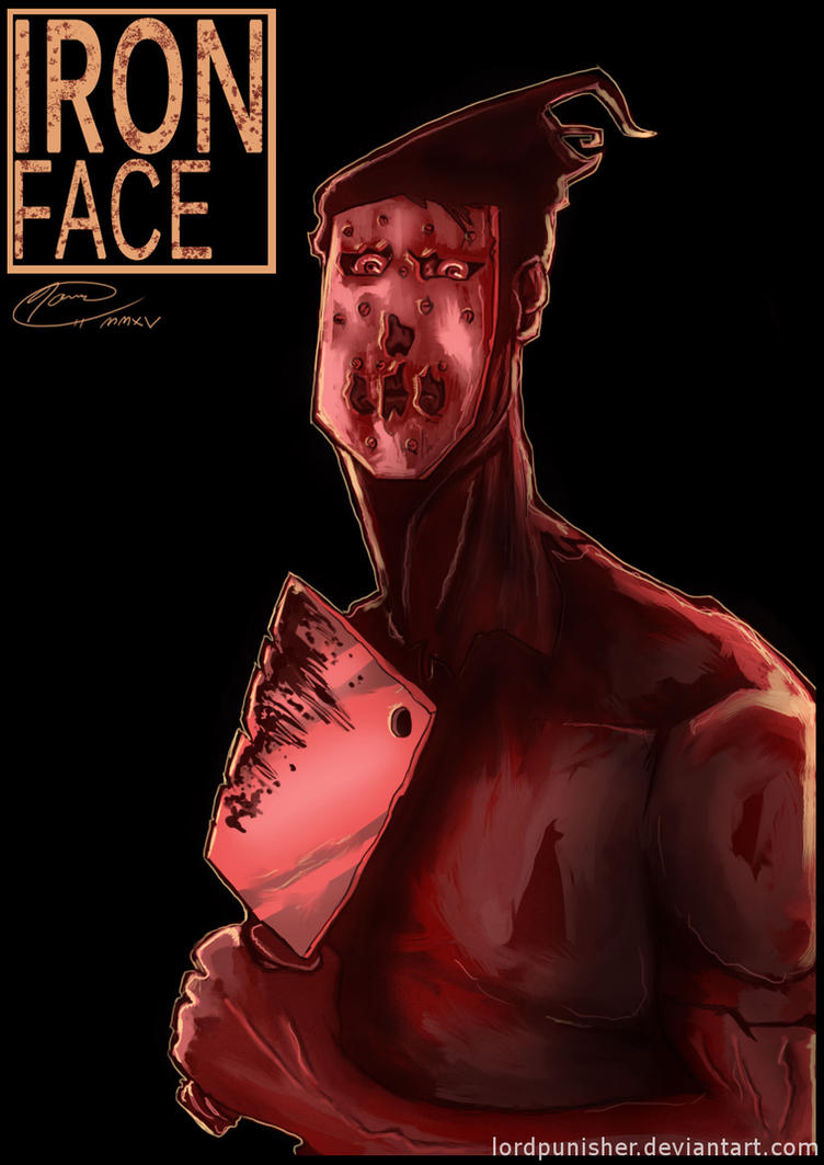 Iron Face by LordPunisher