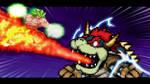 Broly Full Power vs Giga Bowser
