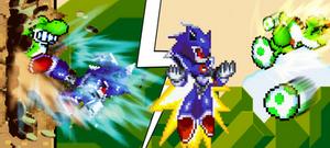 Yoshi vs Metallix