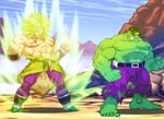Hulk meet Broly