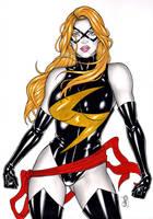 Miss Marvel by elberty-oliviera