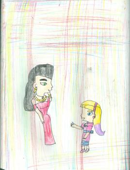 Thora and Una