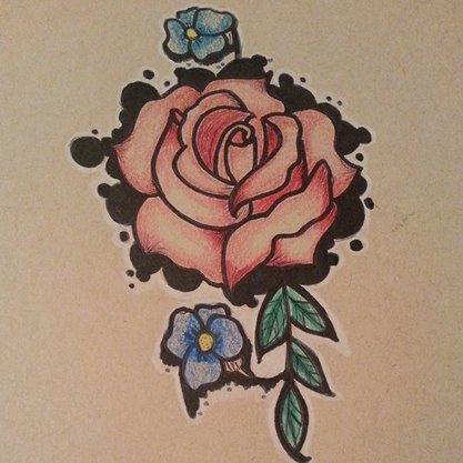 rose design by kaykay18tink