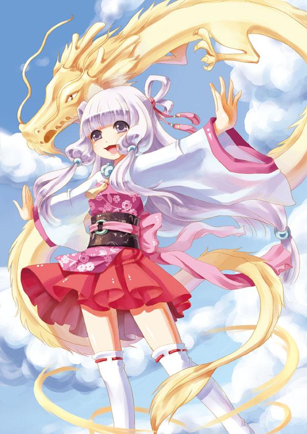 dragon girl by swdd-cat on DeviantArt