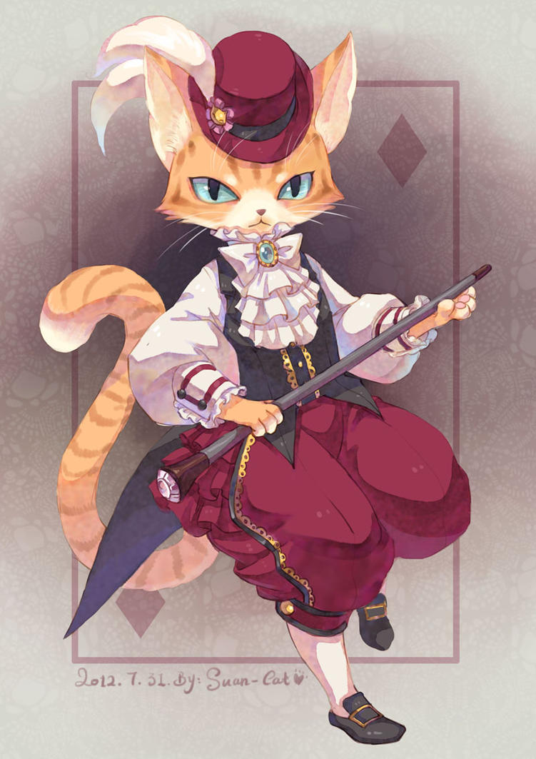 baronet Cat by swdd-cat