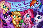 Thank You to the entire staff of My Little Pony