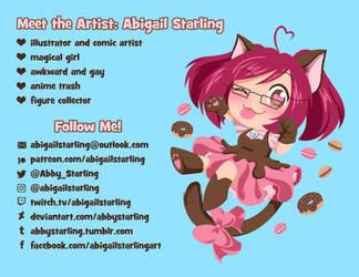 Meet the Artist 2019 by AbbyStarling