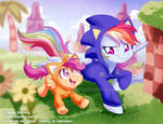 Sonic Dash by AbbyStarling