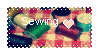 Sewing Stamp by frimerker