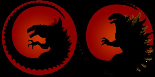 godzilla logo by GANGRELFUHRER