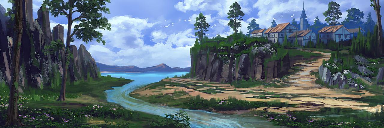 Village by huyztr