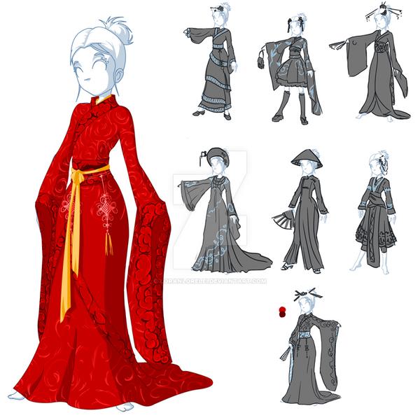 Empress of Jade by LoranLorelei