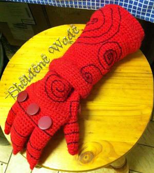 Crochet Right Hand of Doom